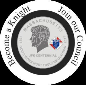 Massachusetts JFK Centennial coin; God's work must truly be our own, 2017