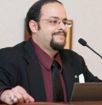 Philip D'Agati at podium