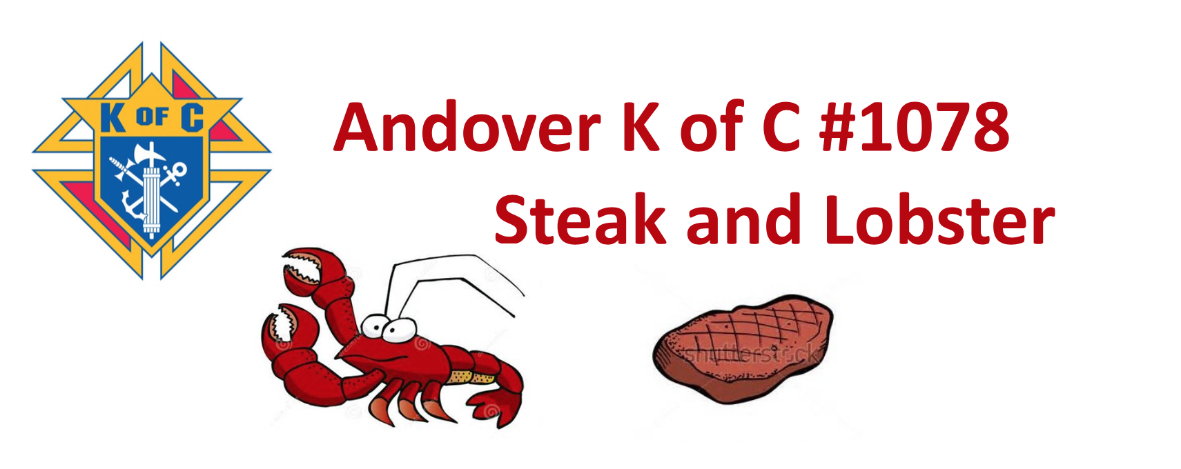 Andover K of C 1078 Steak & Lobster Dinner